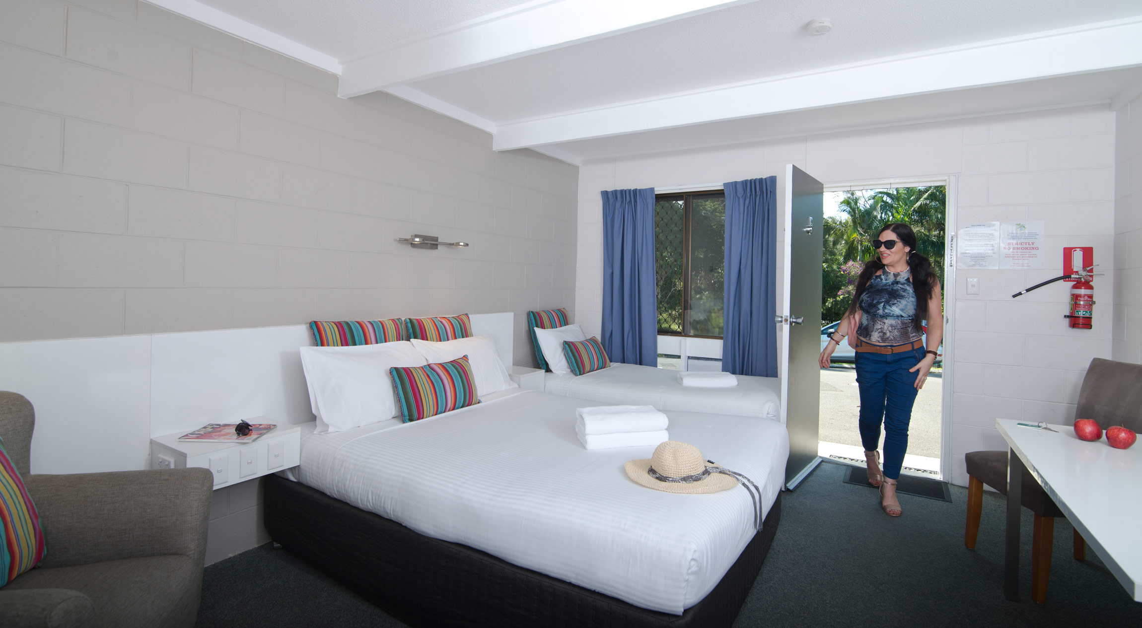Buderim Fiesta motel treble room